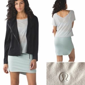 Lululemon city skirt in minty grey size 6